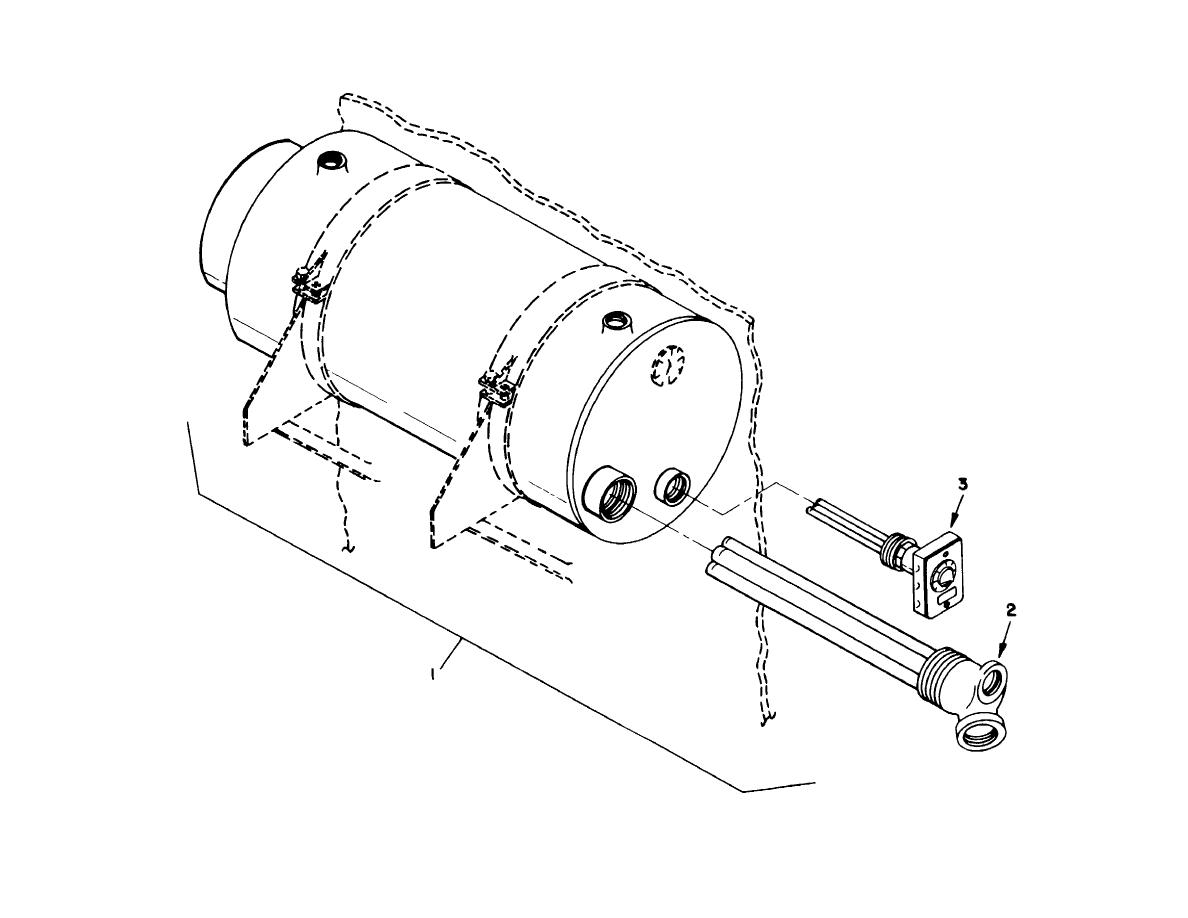 Figure 151 Hot Water Tank And Heater Combination