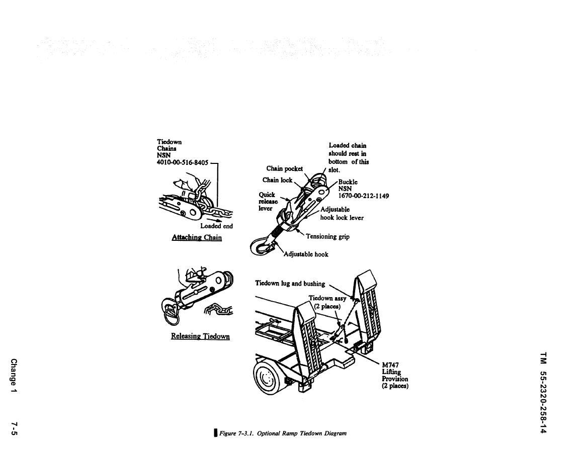 Figure 7 3 1 Optional Ramp Tiedown Diagram