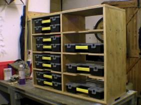 Shelving for Fixing Storage Organisers Stanley Sortmaster Junior