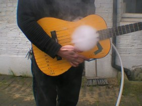 Smoke Cannon Guitar - Melodic Vortex Ring Launcher