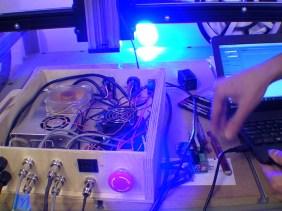 Laser Driver Board into CNC Controller Box
