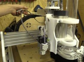 Installing 6W Laser with Magnetic Docking (PLH3D-6W-XF from OptLaser)