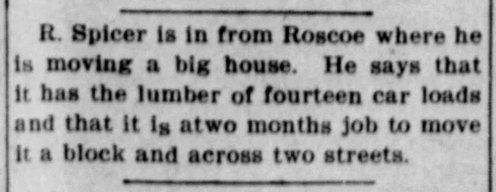 Abilene Farm Report November 18 1907