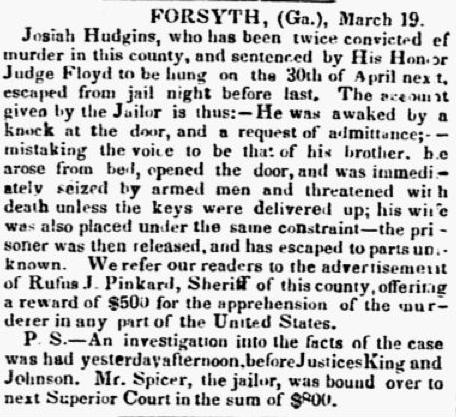 Charleston SC Southern Patriot 3-22-1847