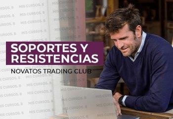 Soportes y resistencias de Novatos Trading Club