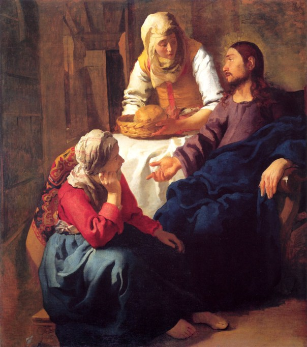 VERMEER-JOHANNES-Christ-In-The-House-Of-Mary-And-Martha-1