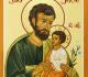 Ícone de São José e o Menino Jesus