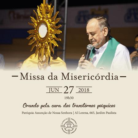 Missa da Misericórdia @ Paróquia Assunção de Nossa Senhora   São Paulo   Brasil