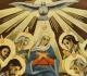 Ícone de Maria no Pentecostes