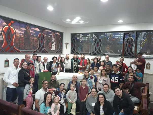 Participantes e equipe do Caná
