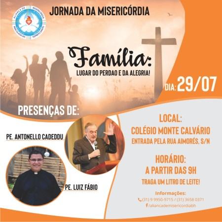 Jornada da Misericórdia em BH @ Colégio Monte Calvário