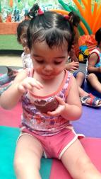 Crianças das creches e oratórios atendidas pela Aliança foram beneficiadas