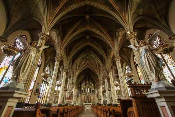 Catedral Imaculado Coração de Maria em Detroit