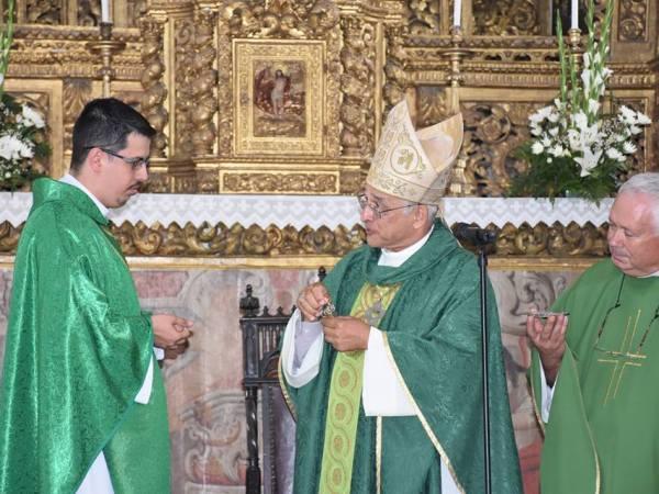 Pe. Luiz Paulo e Dom José Ornelas