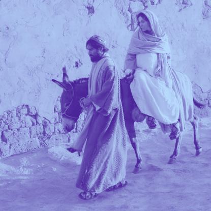 José e Maria grávida