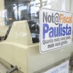 Adesivo da Campanha da Nota Fiscal Paulista
