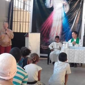 Missa durante a Missão Duc in altum, Venezuela.