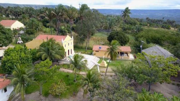 Vista do alto do Sítio São João Batista-Ceará