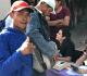 Jovens venezuelanos participaram do Tk