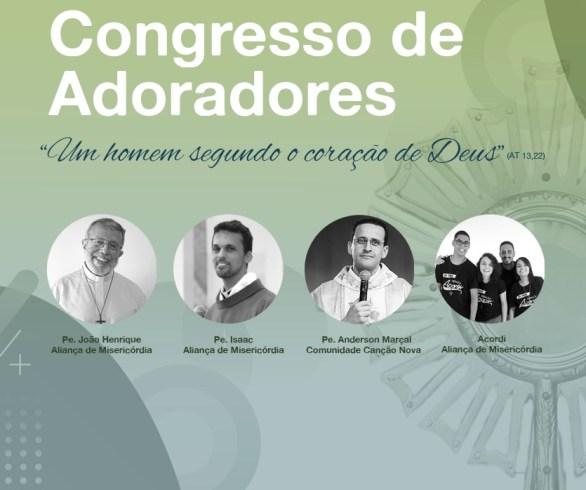Banner de divulgação do congresso dos adoradores