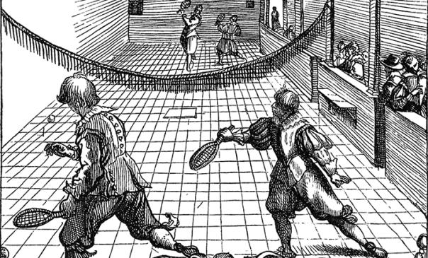 O Jogo de tênis na forma como conhecemos hoje.