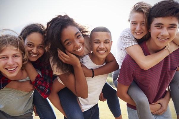 Turma de adolescentes
