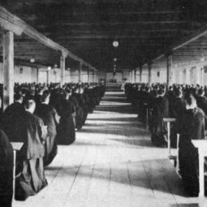 Seminaristas na Cidade da Imaculada.