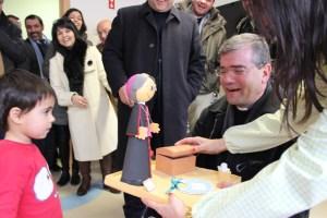 Visita de Sua Excelência Reverendíssima D. José Cordeiro