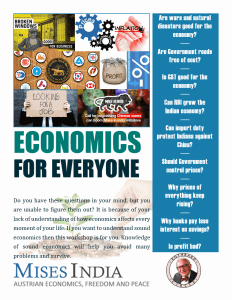 Economics for Everyone workshop