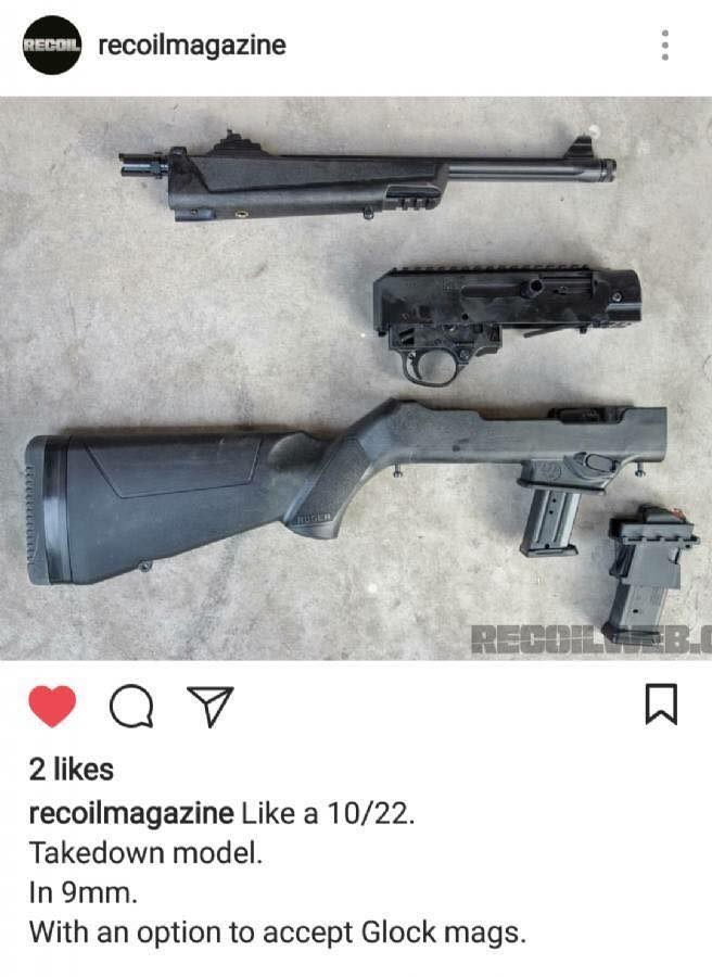 Ruger 9mm Carbine