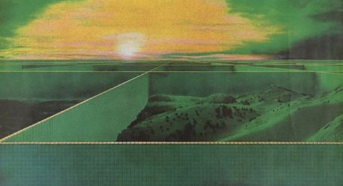 "vintage Superstudio project called ""2,000 Ton City"", 1971"
