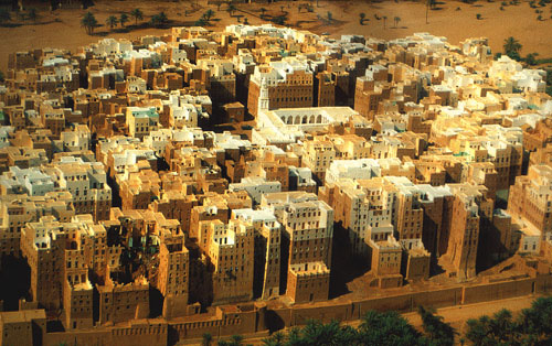 Skyscrapers, City of Shibam,Yemen