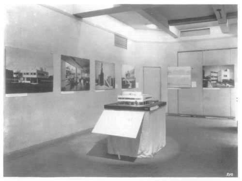 1932 - MOMA's International Style Exhibition