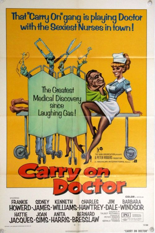 Carry On Doctor One Sheet 1972