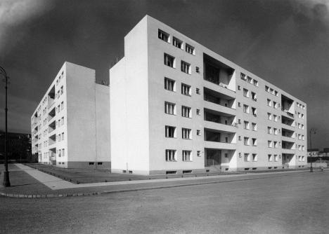 josef polášek municipal housing in brno