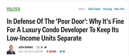 poor door 4