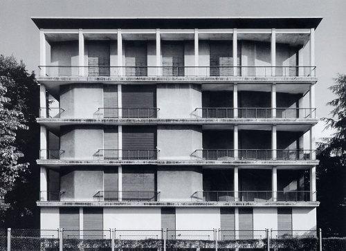 1946–1953 Casa Tognella (park side)