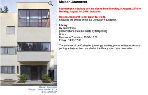 Maison Jeanneret