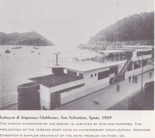 San Sebastian clubhouse