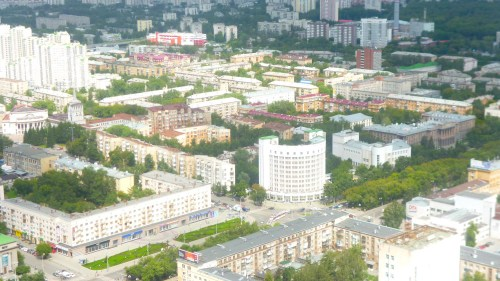 apartment courtyard yekaterinburg