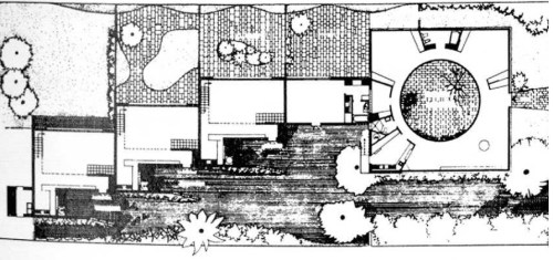 Roy Grounds House plan