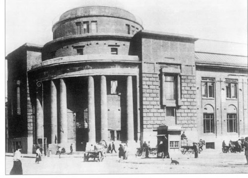 The building of the Office of the state savings banks, erected in 1914-1920 under the project of IA Ivanov-Shicai