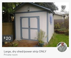 large dry shed