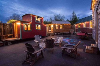 tiny-homes-portland-Exterior-at-dusk