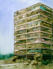 1-highrise-of-homes-color-rendering