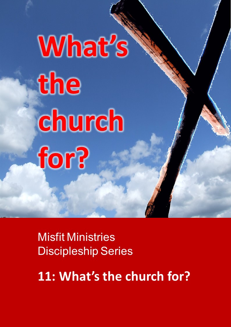What's the church for? - pdf version