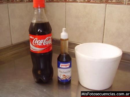 Como hacer Vainilla Coke