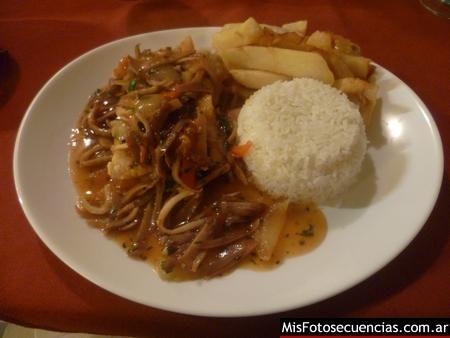 Cena en Sabores del Perú
