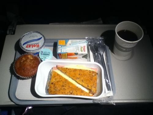 Comer en vuelo
