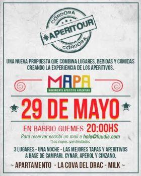 Aperitour: 29 de mayo en Córdoba